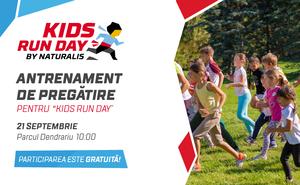 """Al doilea antrenament de pregătire pentru """"Kids Run Day by Naturalis"""""""