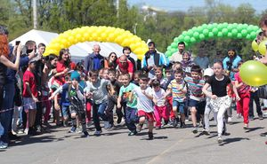 We remember the children's race at the Marathon of Chisinau (Video)
