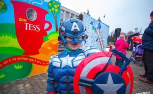 Конкурс на лучший карнавальный костюм Maratonul de Craciun