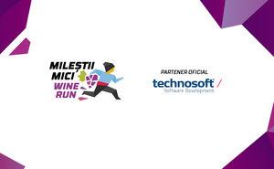 Compania Technosoft a devenit partener oficial Mileștii Mici Wine Run
