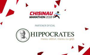 """""""Hippocrates"""" - partenerul oficial al Maratonului din Chișinău"""