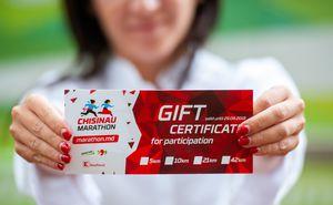 Certificat de participare la Maraton - oferă un cadou original