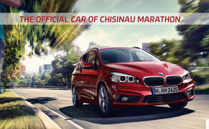 BMW became the official car of Chisinau Marathon