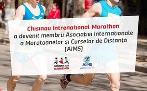 Maratonul din Chişinău a devenit membru asociat al AIMS