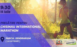 Chisinau Marathon: Antrenament de alergare cu clubul Sporter și Puma