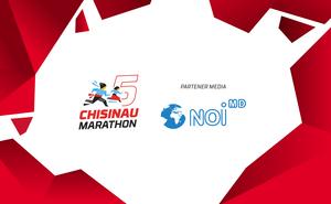 Noi.md - partenerul media al celui de-al cincilea Maraton din Chișinău