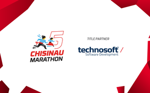 Technosoft team: side by side with the Chisinau Marathon participants