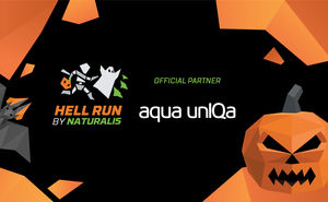 Aqua UnIQa shall hydrate the Hell Run by Naturalis participants