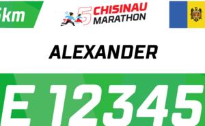 Receive a nominal BIB number for Chisinau International Marathon 2019!