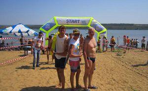 Благодарственное письмо организаторам Sea Mile 2015 от Украины