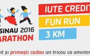 Participă gratuit la cursa Iute Credit Fun Run și primește cadou un tricou