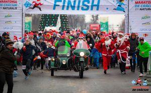 În Chișinău s-a desfășurat cursa anuală de Crăciun