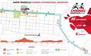Maratonul Chișinău 2018: Traseu schimbat pentru Fun Run și cursa de 5 km