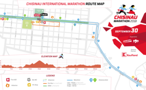 Chisinau Marathon 2018: Diverted course for Fun Run and 5km race