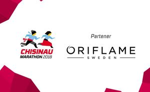 Oriflame – partener oficial al Maratonului Internațional Chișinău 2018