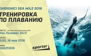 Тренировка по плаванию в рамках подготовки к Sea Mile 2016