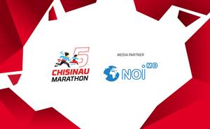Noi.md became a media partner of the fifth Chisinau Marathon