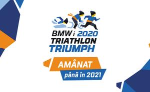 Campionatul de triatlon Triathlon Triumph se amână pentru anul viitor