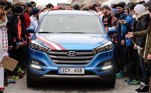 Hyundai – официальная машина Cricova Wine Run