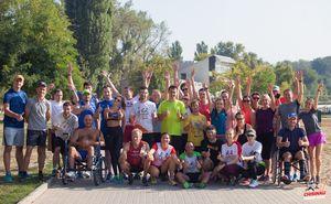 Прошла первая подготовительная тренировка к Кишиневскому марафону