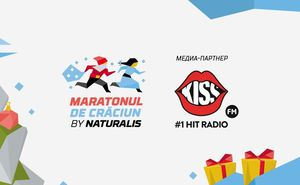 Kiss FM поддерживает волшебный забег Maratonul de Craciun by Naturalis