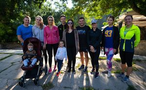 Echipa clinicii stomatologice Dr.Romaniuc - gata pentru Maraton