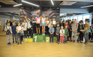 Стали известны победители Kids Indoor Triathlon