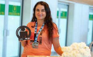 Анна Казаку преодолела полную дистанцию Ironman Tallin