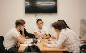 В офисе Simpals прошла встреча с волонтерами Кишиневского марафона