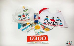 В Кишинёве стартовала выдача стартовых пакетов Balti Half Marathon