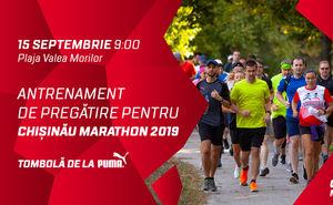 Antrenament de pregătire pentru Chișinău International Marathon 2019