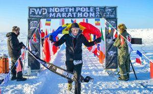 Молдаванин занял второе место на марафоне North Pole Marathon