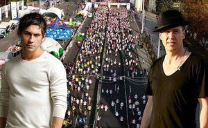 Zdob și Zdub и Дан Балан гордятся Кишиневским марафоном