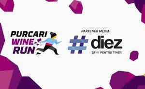 #diez a devenit partener informațional al cursei Purcari Wine Run 2018.