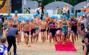 В эти выходные состоится Sea Mile Kids Aquathlon