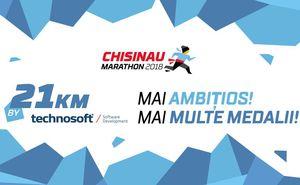 Technosoft susține cu mândrie Maratonul Chișinău 2018