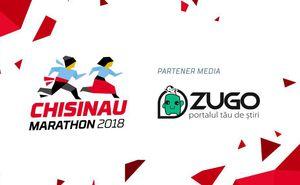 ZUGO este alături de participanții Chișinău International Marathon