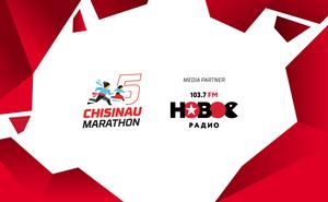 Poli Disc – Novoe Radio - partener media al Maratonului din Chișinău