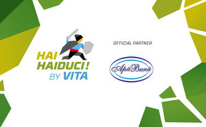 Apa Buna became the official partner of Hai Haiduci 2019