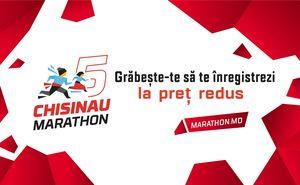 Înregistrează-te la Maratonul Chișinău înainte de creșterea prețurilor!