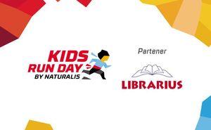 LIBRARIUS este alături de micii atleți ai curselor KIDS RUN DAY
