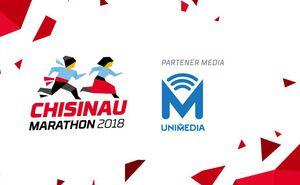 UNIMEDIA va fi aproape de alergătorii Chișinău International Marathon