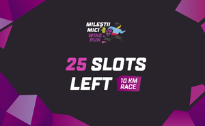 Hurry up to register for Milestii Mici Wine Run 2020 at low prices!