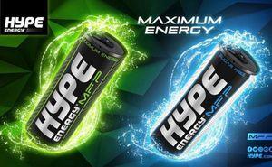 Hype Energy Drink - официальный энергетический напиток Sea Mile