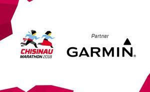Garmin - partner for Chisinau International Marathon 2018