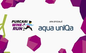 Aqua unIQa - apa oficială Purcari Wine Run