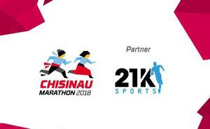 21K Sports store supports runners at Chisinau International Marathon