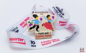 Изображение медали Purcari Wine Run