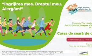 Aleargă pentru a susține Hospices of Hope Moldova