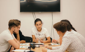 La oficiul Simpals a avut loc prima întâlnire cu voluntarii